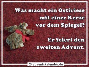 Lustiger Witz mit Ostfriese und Advent :D