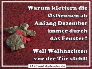 Lustiger Witz mit Ostfriese und Weihnachten :D