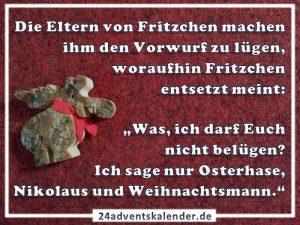 Lustiger Witz mit Osterhase und Nikolaus :D