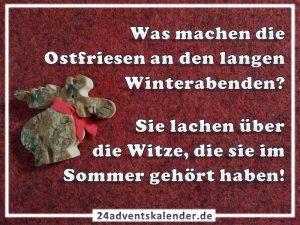 Lustiger Witz mit Ostfriese und Winterabend :D
