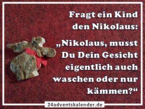 Lustiger Witz mit Kind und Nikolaus :D