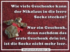 Lustiger Witz mit Nikolaus und Geschenk :D