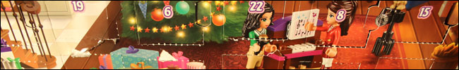 Lego Friends Adventskalender auspacken