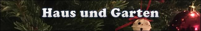 Schriftzug - Übersicht - Online Gewinnspiele - Haus und Garten