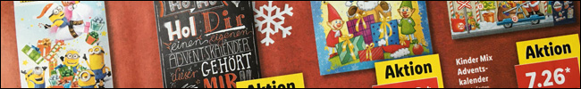 Titelbild - Angebote Adventskalender KW 44