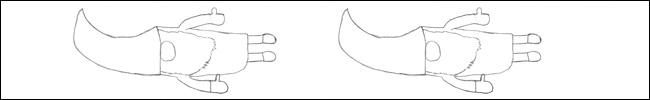 Bild - Ausmalvorlage - Wichtel mit Mütze