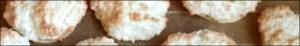 Titelbild - Plätzchen backen - Kokosmakronen